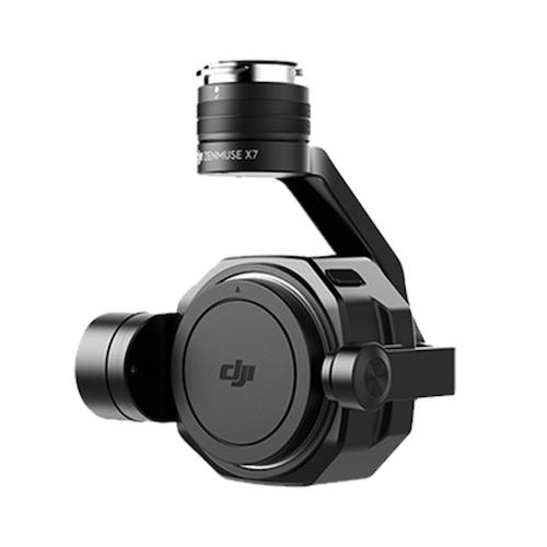 DJI Zenmuse X7 ジンバル搭載カメラ(レンズ無) Inspire2用