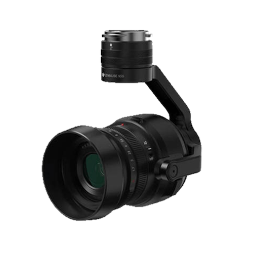 DJI Zenmuse X5S ジンバル搭載カメラ(レンズ有) Inspire2用