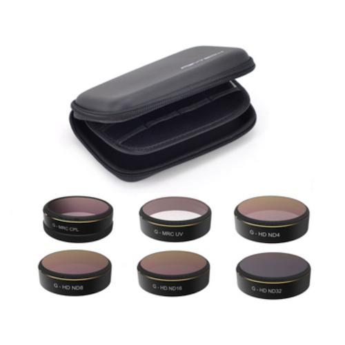 DJI フィルターセット(UV/ND4/ND8/ND16/ND32/CPL) for Phantom4シリーズ Phantom4シリーズ用