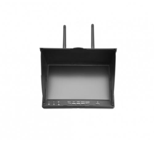Fosa Fosa FPVモニター 5.8GHz 40Channels 7インチLCDモニター/ディスプレイスクリーンレシーバーモニター 異なる2つのチャンネルを同時受信可能