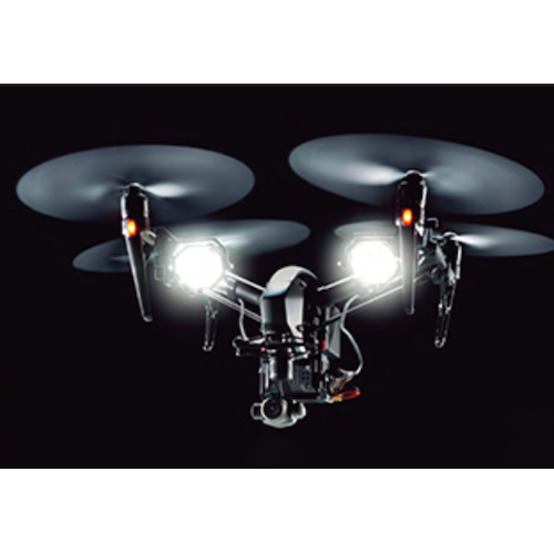 SYNERGY TEC ドローン用照明装置 DL100 サーチライト DJI-Inspire2に対応