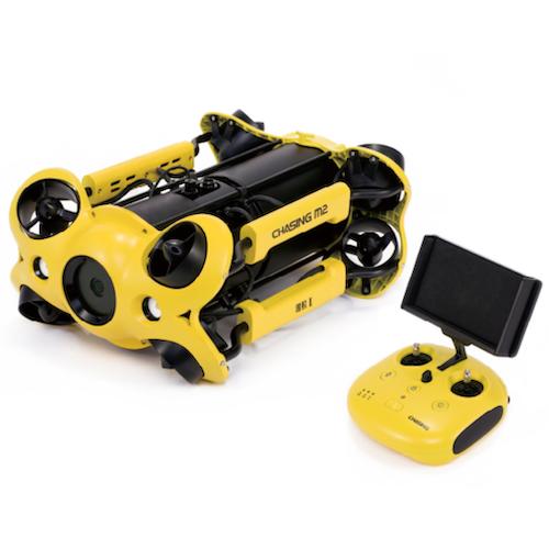 CHASING CHASING M2 バッテリー交換式で4K撮影可能!ポータブル水中ドローン