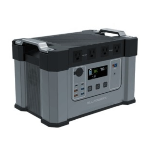 ALLPOWERS ポータブル電源 超大容量タイプMonster X 容量1,700Wh/出力合計2,000W 大容量460,800mAh