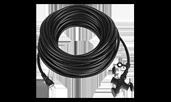電源延長コード 20m 15A 防水非対応 1W口 3個口